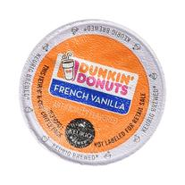 Dunkin Donuts French Vanilla Flavored Coffee K-Cups For