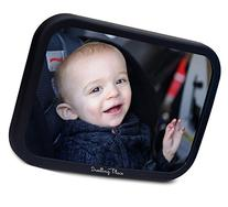 #1 Premium Back Seat Mirror - Clear Reflection &