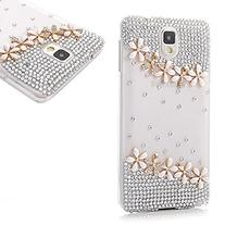 EVTECH 3D Handmade Fashion Crystal Rhinestone Bling Case