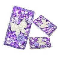 EVTECH for  Floral Crown Bling Crystal Glitter Book Style