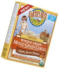Earth's Best Baby Cereal - Mixed Grain Apple Sweet Potato -