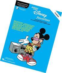 Easy Disney Favorites: Clarinet Play-Along Pack