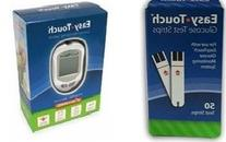 Easy Touch Meter + 50Ct Test Strips Combo Deal