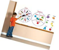 Educational Insights Spinzone Magnetic Whiteboard Game