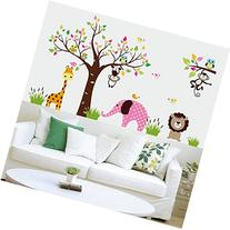 ElecMotive Cartoon Forest Animal Elephant Monkey Lion