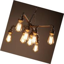 Electro_BP; Vintage Style Metal Art Chandelier Max 480W With