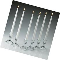 Light In The Dark White Taper Candles 12 Inch Tall 3/4 Inch