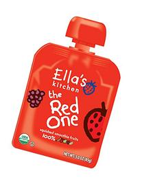 Ella's Kitchen Organic Smoothie Fruits, The Red One, 3 Ounce