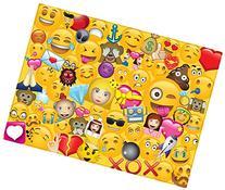 Emoji Universe: 1000-Piece Emoji Jigsaw Puzzle, Emoji Splash