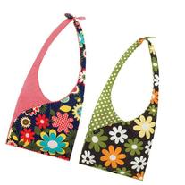 Envirosax Set of 2 Slingsax Bags, Gingham & Dot