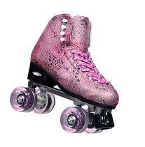 Epic Skates 2016 Epic Sparkle 9 High-Top Quad Roller Skates