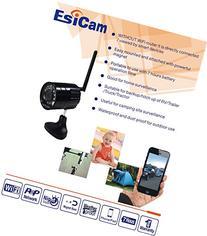 EsiCam Battery Backup Camera Wireless for Smart Phone