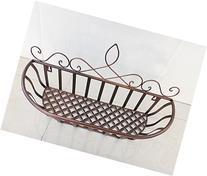 European-style Garden Living Room Iron Wall Shelf Baskets