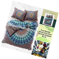 """Exclusive BOHO DUVET COVER WITH PILLOWCASES By """"MADHU"""