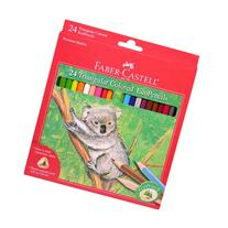 Faber-Castell 24ct Triangular Colored EcoPencils