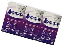 Feliway 48-Milliliter Plug-In Refills, 6 Refills, New, Free