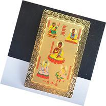 Fengshui Tibetan Buddha Guan Yin of Wealth Card Amulet/