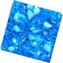 Blue Ridge Brand™ Light Blue Fire Glass - 3-Pound