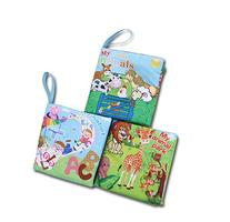 First Year Soft Cloth Baby Books for Infants - Set of 3 -