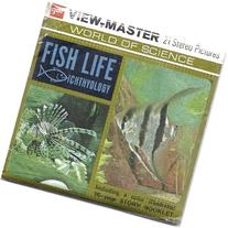 Fish Life Ichthyology 3d View-Master 3 Reel Packet