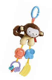 Fisher Price My Little SnugaMonkey Stroller Rattle Monkey