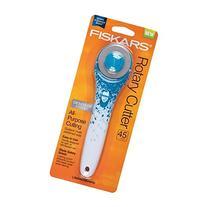 Fiskars Blue Floral Designer Stick Rotary Cutter, 45mm