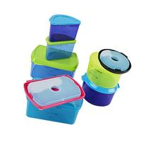 Fit & Fresh Kids' Reusable Lunch Box Container Set with