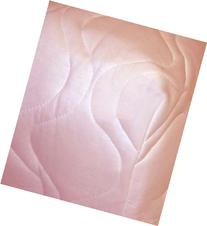 Fitted Pack N Play  Sheet - Pink Quilted - Made In USA