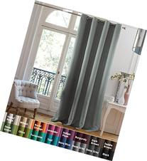 Flamingo P Window Treatment Thermal Insulated Solid Grommet