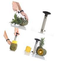 Flexzion Pineapple Corer Peeler De-corer Stainless Steel