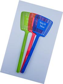 Wonky Hill Pack of 3 Fly Swatter Manual Swat Pest Control