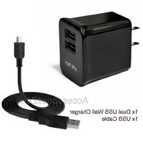 For VIZIO 8 Inch Tablet VTAB1008 10W 2100mAh Dual USB Ports