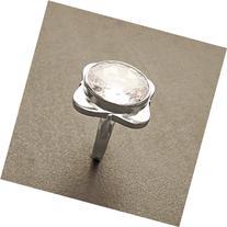 Four-Leaf Clover Ring with Zirconias, Design Four-Leaf