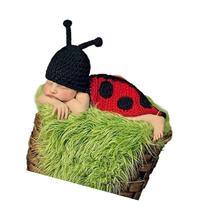 Foxnovo Cute Beetle Style Baby Infant Newborn Handmade