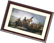 Framed Art Print, 'Washington Crossing the Delaware River'