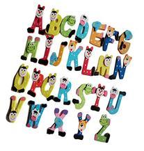 Franterd, 26pcs Child Cartoon Alphabet A-Z Magnets