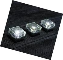 Frostfire Solar Ice Rocks - Path and garden solar lights