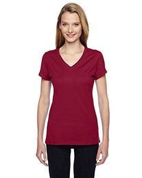 Fruit of the Loom - Ladies' SofSpun Jersey V-Neck T-Shirt -