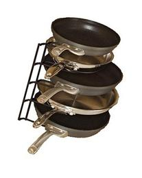 Frying Pan Rack Standing Organizer Holder Storage Cookware