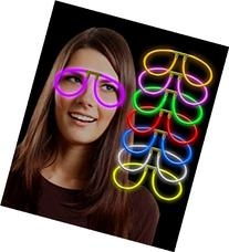 Fun Central G709 Glow Stick Eye Glasses - Assorted Colors