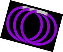 "Fun Central P73 8"" Glow Stick Bracelets Purple Glowsticks -"