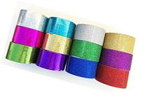 """Fun and Beyond 12 Roll Variety Pack 1.88"""" Sparkle Glitter"""
