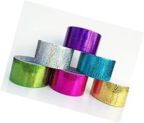 """Fun and Beyond 6 Rolls Variety Assorted Color Pack 1.88"""""""