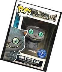 Funko POP Disney: Alice in Wonderland Cheshire Cat Flocked #