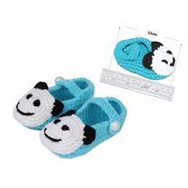 FuzzyGreen Light Blue Cute Panda Baby Newborn Infants