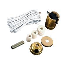 GE Bottle Lamp Kit, White Cord 50961