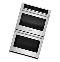 "GE Monogram ZET9550SHSS 30"" Double Electric Wall Oven with"