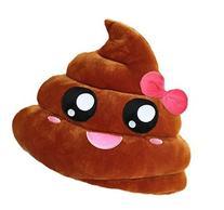 GODHL Soft Emoji Emoticon Cushion Pillow Stuffed Plush Toy