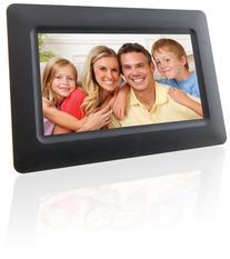 GPX, Inc. PF702B 7-Inch Digital Photo Frame with SD/MMC