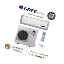 GREE Evo+ Premium Efficiency 12,000 BTU Ductless Mini Split